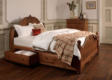 wooden french bed orleans bed handmade uk