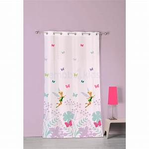 Voilage Fée Clochette 140 x 240 cm Disney Fairies Decokids