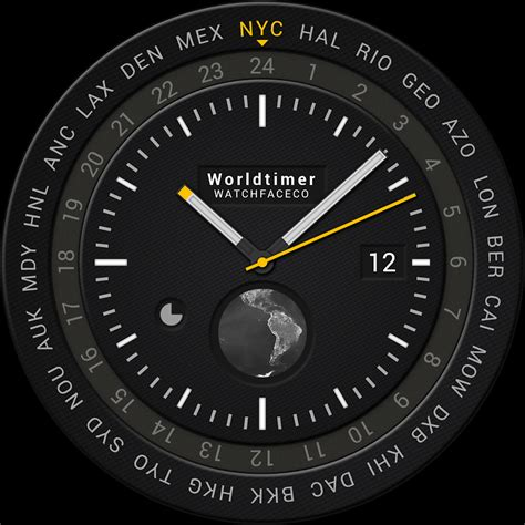 World Timer Watch Face  Android Apps On Google Play