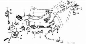Wire Harness   Ignition Coil  C D I  Unit For 1994 Honda