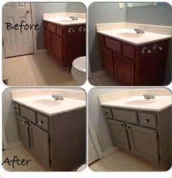 Bathroom Vanity Paint Ideas Painted Bathroom Vanity Diy