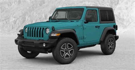 2019 Jeep Paint Colors by 2018 Jeep Wrangler Exterior Colors Best New For 2018
