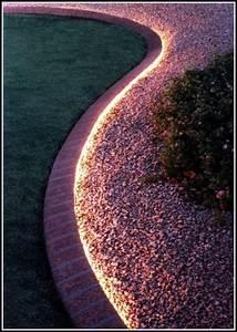 beleuchtung garten cool licht fr garten terrasse und With französischer balkon mit led beleuchtung im garten