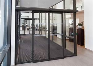 axed portes automatiques porte coulissante circulation With societe record porte automatique