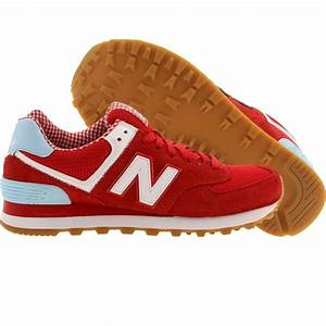 New Balance Women WL574SPW - Picnic Pack red white 574 ...