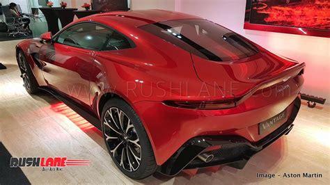 New Aston Martin Vantage India Launch Price Rs 2.95 Cr