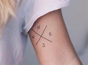 Tatouage Minimaliste : tatouage voyage pour les globe trotters en 10 id es ~ Melissatoandfro.com Idées de Décoration