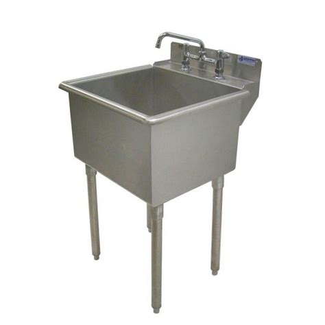 stainless steel laundry room sink griffin products lt series 24x24 stainless steel