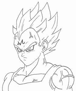 How to draw GOKU SSJ2