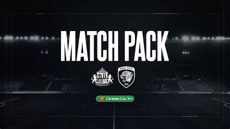 MATCH PACK   Sunderland (a)   Carabao Cup Round One - YouTube