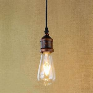 Recycled retro nostalgic one head hanging pendant lamp