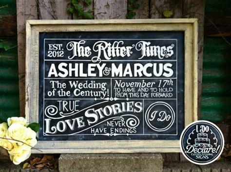 Top 15 Rustic Wedding Signs