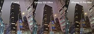Pixel 4 Vs Galaxy S20 Ultra Vs Iphone 11 Pro Max Night