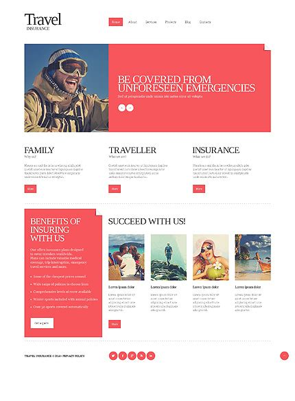 Travel Insurance Website Template by Travel Insurance Templates 13 Unexpected Ways Travel