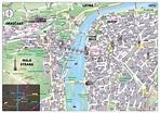 Old town prague map - Map of prague old town square ...