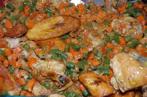 recette de cuisine camerounaise cuisine camerounaise poulet dg