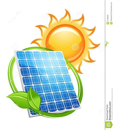 panneau solaire et batteries avec le soleil photos libres de droits image 27498598