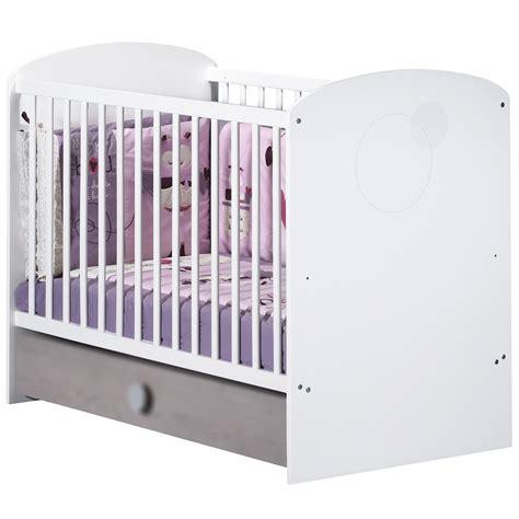 chambre bébé lola lola lit 60x120cm blanc 60x120 de sauthon s 233 lection lits