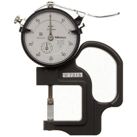 Mitutoyo 7315 Dial Thickness Gagegroove Thickness