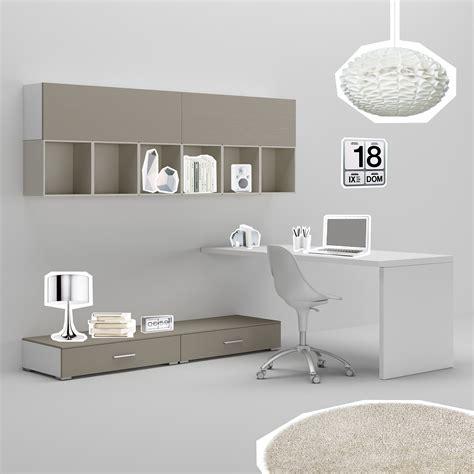 bureau pour ados bureau ado avec jambage moderne épuré compact