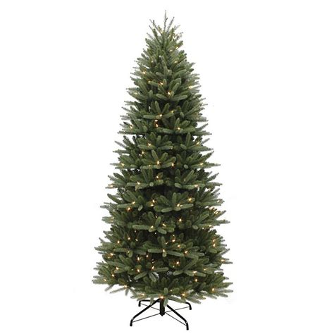 slim washington valley spruce pre lit 6 5ft artificial christmas tree pe pvc bosworths online shop