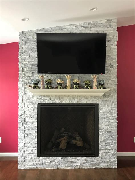 fireplace  westbury ny russos contracting