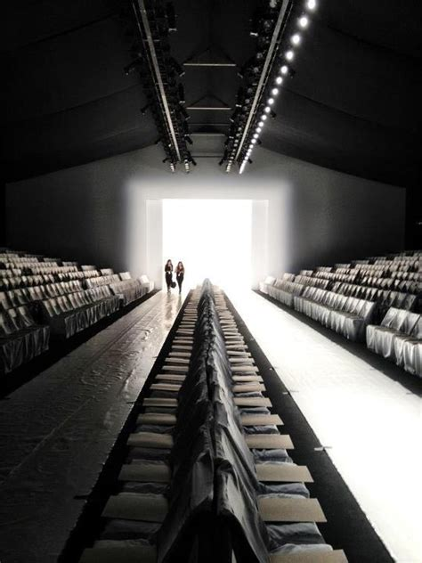 empty runway  fashion week fashion pinterest
