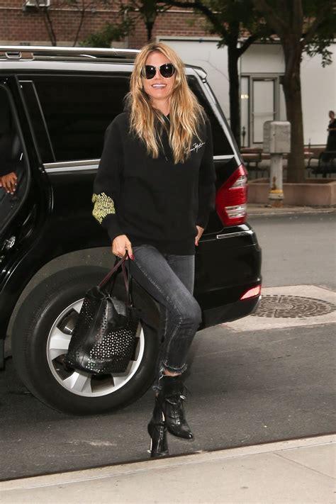 Heidi Klum Out New York Hawtcelebs