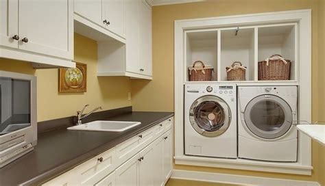 washing machine in kitchen design how to find the right spot for the washing machine 8907