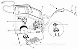 Campbell Hausfeld WF2054 Parts Diagram for Arc-Welder Parts