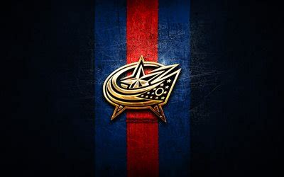 Nhl wallpaper for iphone and android with images nhl wallpaper. Download wallpapers Columbus Blue Jackets, golden logo ...
