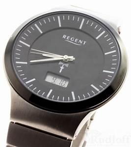 Radio Controlled Uhr Bedienungsanleitung : regent titan uhr herren funkuhr radiocontrolled 17119096 titanium ebay ~ Watch28wear.com Haus und Dekorationen