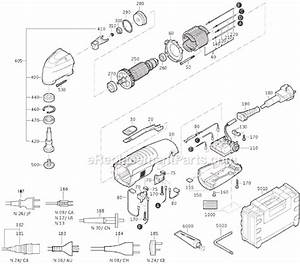 Fein Fmm250 Parts List And Diagram