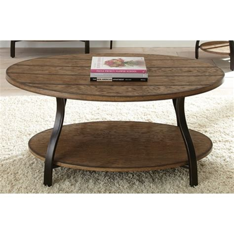 wood top metal base coffee table denise oval coffee table light oak wood top metal base