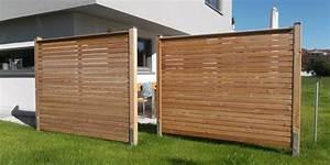 Holz Sichtschutz Für Garten : holz f r sichtschutz ~ Sanjose-hotels-ca.com Haus und Dekorationen