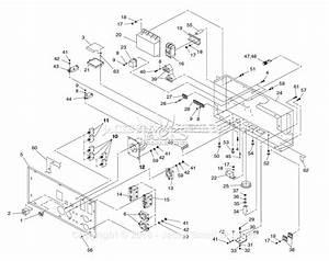 Generac 4582 Parts Diagram For Control Panel