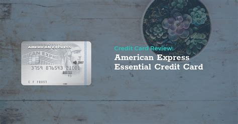 Maybe you would like to learn more about one of these? Review: American Express Essential Credit Card   LowestRates.ca