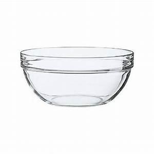 Saladier En Verre : saladier en verre empilable 20cm saladier empilable arcoroc ~ Teatrodelosmanantiales.com Idées de Décoration