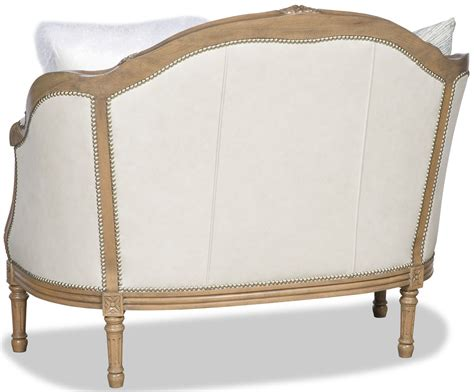 Classic Settees by Classic Carved Wood Frame Settee