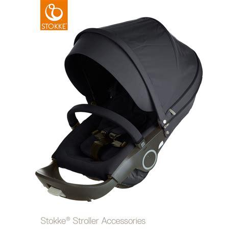 siege adaptable pour poussette siège complet pour poussette crusi trailz et xplory noir