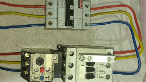 dol starter power wiring diagram