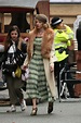 ANYA TAYLOR-JOY on the Set of Peaky Blinders in Manchester ...