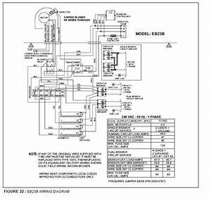 I Need A Wiring Diagram For A Evcon Furnace Model Eb23b