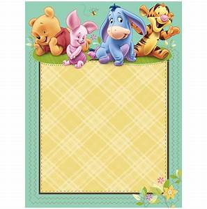 winnie the pooh baby shower invitations templates free With winnie the pooh birthday invitations templates
