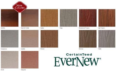 certainteed decking vs trex composite deck colors