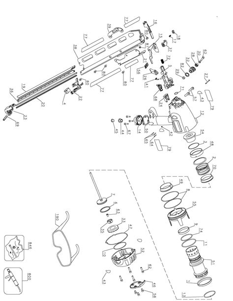 Dewalt D51822 Parts Diagram