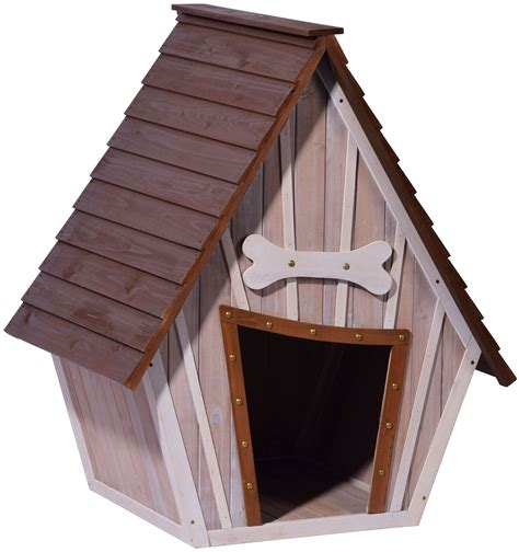 dobar fsc hundehuette isoliertes xl outdoor hundehaus