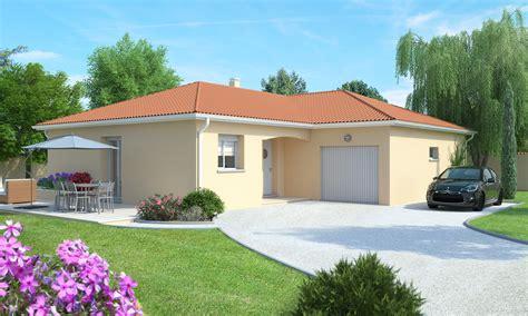 plan maison simple 3 chambres maison plain pied sur grand terrain près de paulhaguet