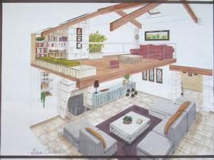 plan maison avec mezzanine atlubcom With affiche chambre bébé avec commander des fleurs par internet
