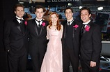 The American Wedding cast suited up for the Valentine's ...
